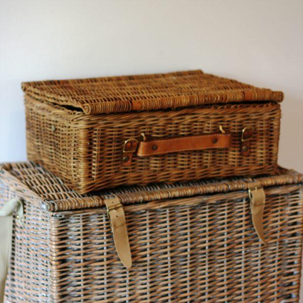 Cane picnic baskets