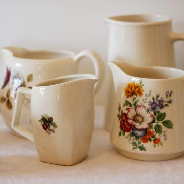 Vintage china jugs