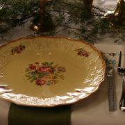Vintage English china plates