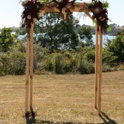 Wooden arch