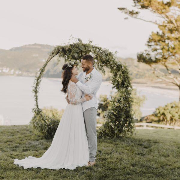 Circular backdrop